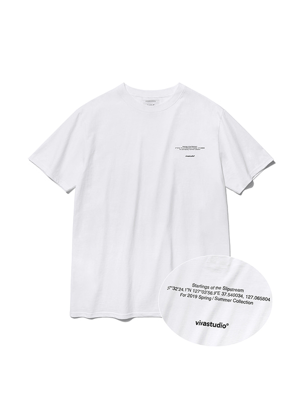 NEW LOCATION SHORT SLEEVE IS [WHITE]