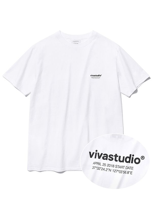LOCATION SHORT SLEEVE JS [WHITE]