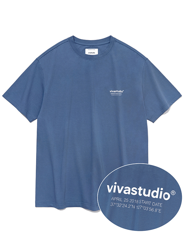 LOCATION SHORT SLEEVE JS [INDIGO BLUE]
