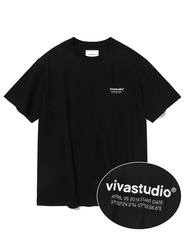 LOCATION SHORT SLEEVE JS [BLACK]