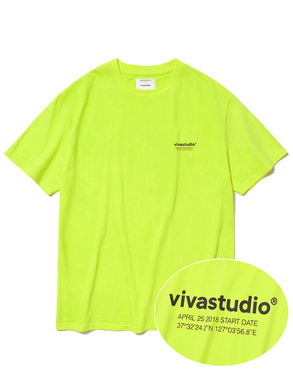 LOCATION SHORT SLEEVE JS [LIME YELLOW]