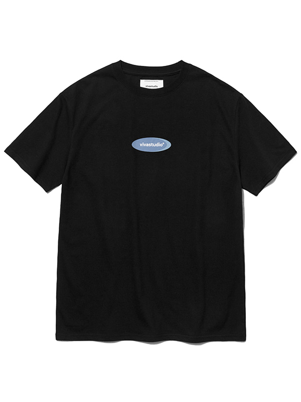 CIRCLE LOGO SHORT SLEEVE JS [BLACK]