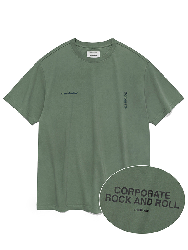 NEW CORPORATE SHORT SLEEVE JS [GREEN TEA]
